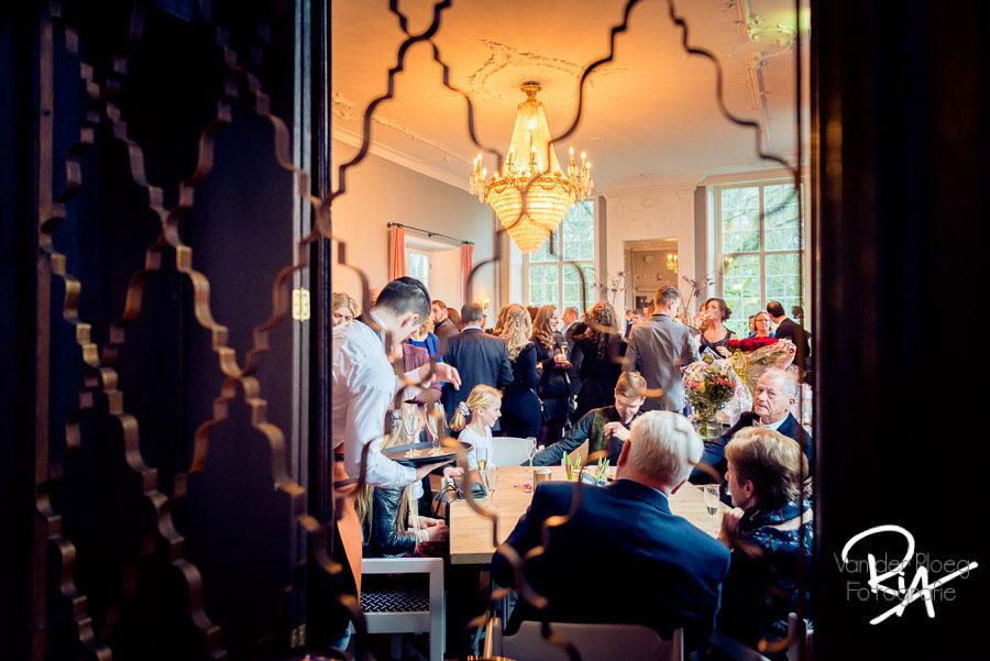 Fotograaf bruiloft feest huwelijk kasteel Maurick Vught