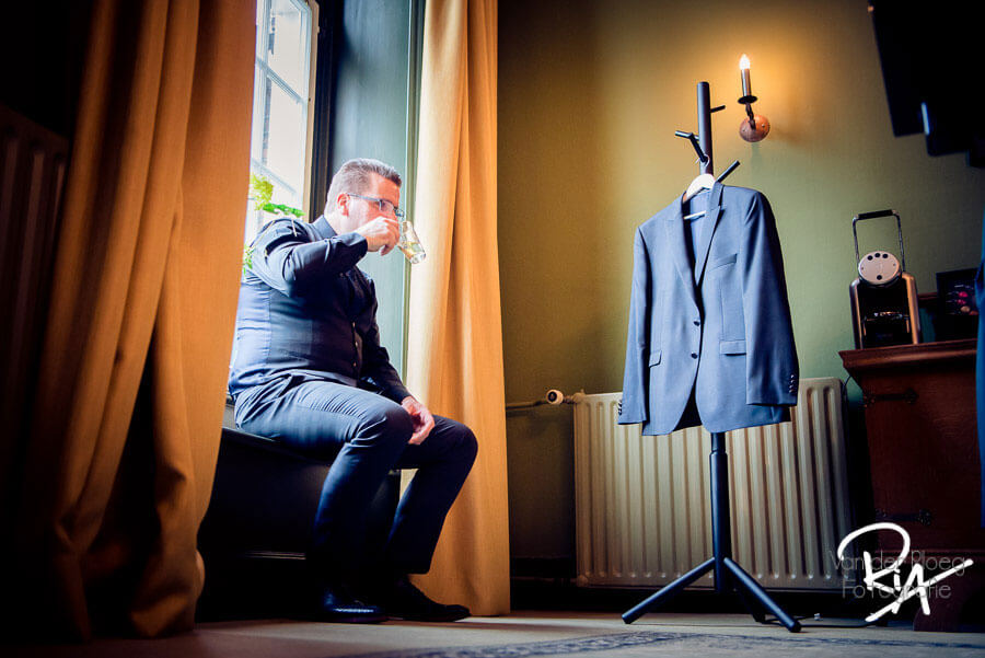 Kasteel Maurick Vught trouwfotograaf trouwreportage
