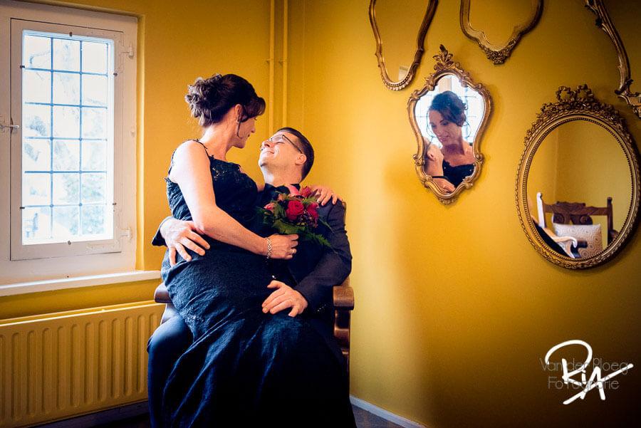 Trouwreportage fotograaf huwelijk kasteel maurick vught