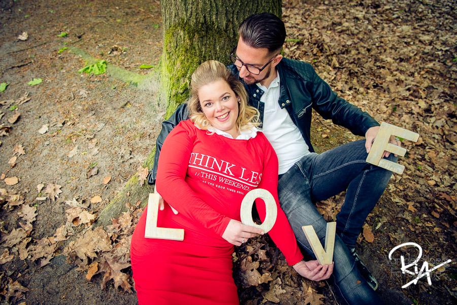 foto trouwkaartje fotograaf waalre love