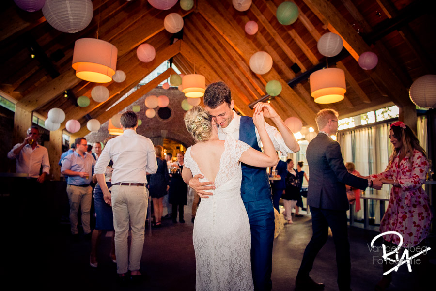 fotograaf trouwlocatie kasteelhoeve landgoed feestavond