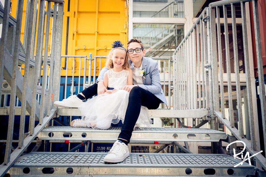 bruidskinderen fotograaf eindhoven jongen bruidsmeisje