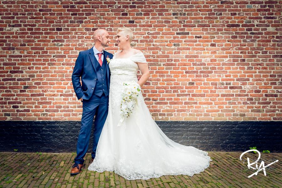 bruidspaar getrouwd museum oude slot veldhoven