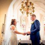 fotograaf huwelijk trouwen kerk son breugel