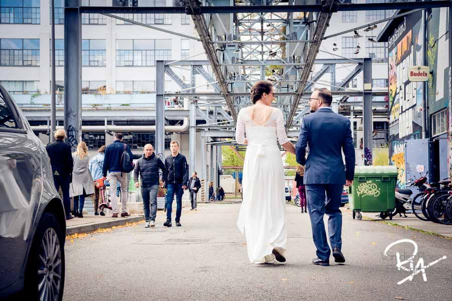 trouwfotograaf eindhoven strijp s trouwfoto fotograaf